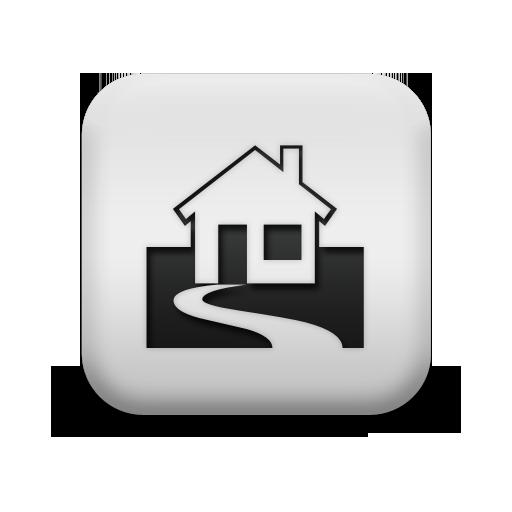 White Home Icon Transparent